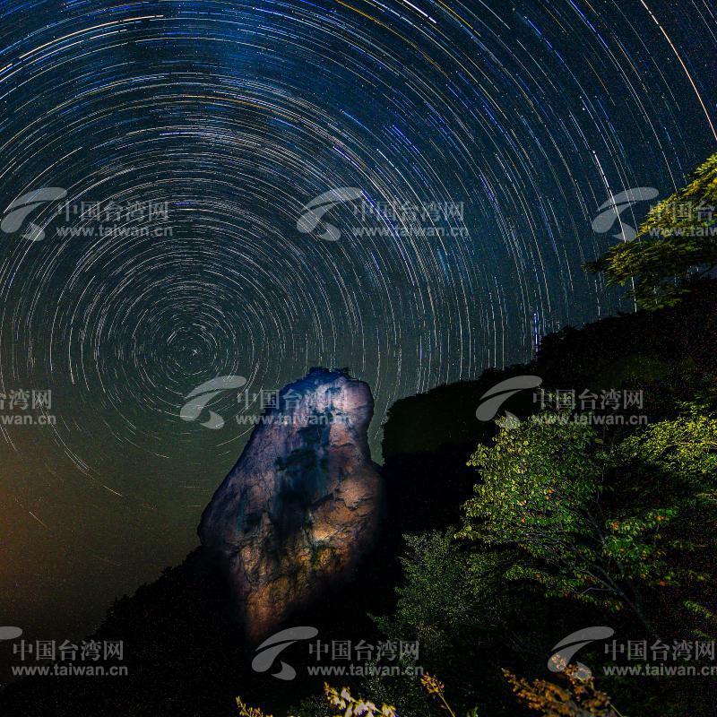 金刚台国家地质公园猫耳峰景区位于美丽的河南