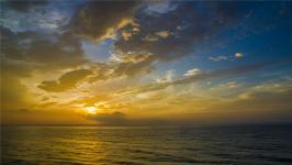 台湾东海岸,太平洋日出