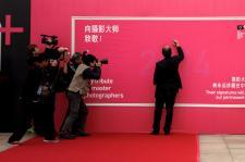 2014北京国际摄影周开幕 摄影家走红毯