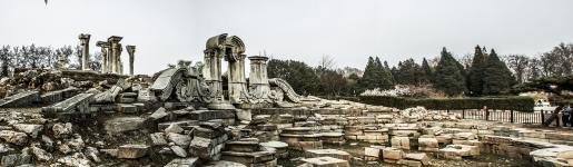 历史的沧桑——圆明园