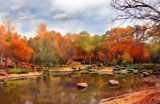 秋日,太阳岛