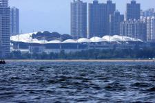 秦皇岛海上远眺