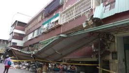 台南地震 多处房屋塌陷
