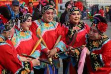 河北秦皇岛市抚宁县县改区后第一个元宵节庙会精彩纷呈