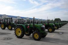 二道河农场现代化农业机械