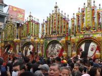 台湾三峡祖师庙2月2日举办神猪祭典