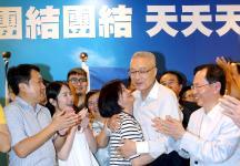 """国民党""""主席""""选举,吴敦义大幅领先赢得选举"""