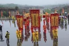 """山西高平炎帝陵""""海峡两岸交流基地""""举行授牌仪式"""