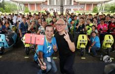 台湾Gogoro2系列缔造电动摩托车新纪录
