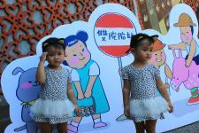 台湾宝山乡举办双胞胎节,宛如一场双胞胎嘉年华会