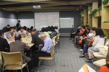 北京市台联邀请台湾中小企业代表人士参访团参观北京