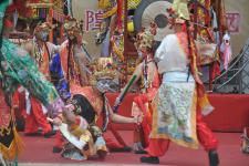2017鸡笼城隍文化祭日巡祈福绕境登场