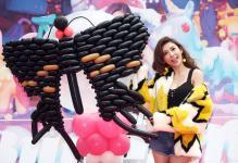 恺乐即将发行新专辑《黑蝴蝶》 推出3D地景艺术地画做宣传