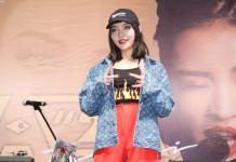 大陆女Rapper VAVA 专辑《21》来台签唱会