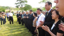 台湾爱国志士林祖密雕像落户海沧