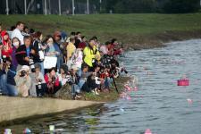 柯文哲出席台北市多元文化活动─水灯节活动