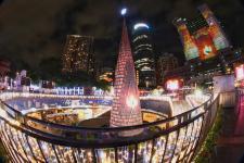 台湾新北市欢乐圣诞城主灯秀亮丽登场