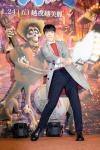 由萧敬腾配音和配乐的电影《可可夜总会》中文版举行首映会