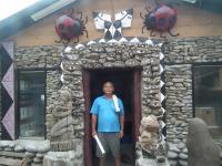 台东最南端的南田部落 村民自筹自足打造一栋属于自己的书屋