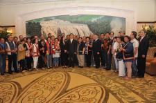 上海市委书记韩正会见台湾少数民族访问团一行