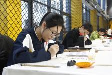 """""""首届海峡两岸青少年书画大赛""""决赛在京举行"""