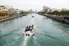 台南运河游船12月18日首航 全段10公里约1小时
