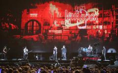 五月天《人生无限公司》巡回演唱会最终场在桃园国际棒球场举行