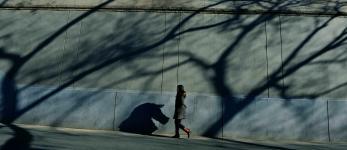 北京城墙根下的女人