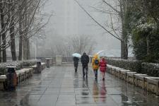 今冬贵阳迎来第一场雪