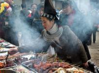 舌尖上的美食--贵阳清镇苗族烧烤