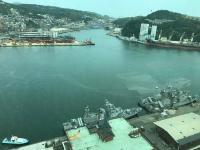 台湾基隆港军港动土迁移