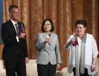 蔡英文出席欧洲商会2018欧洲日晚宴并致词