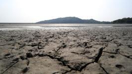 台湾近三月降雨量不多,水情吃紧