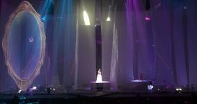 齐豫、潘越云在台北小巨蛋举办回声演唱会