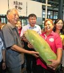 台北市长柯文哲与前市长黄大洲一同出席田园城市建置成果发表会