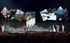 雅加达亚运闭幕式上杭州的表演充满中国风味