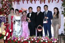 周游与李朝永举行红宝石婚