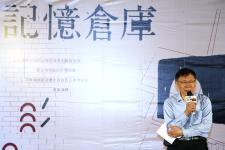 台北市长柯文哲出席三井仓库开幕典礼