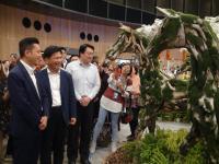 基隆、新竹、台中三市市长参观台中花博