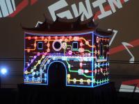 台北灯节公布北门光雕秀设计