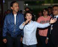 前新北市市长朱立伦拜访台中市长卢秀燕